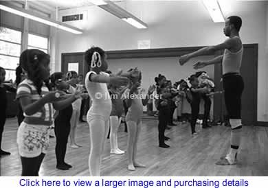 Art: Dance Class - Documentary Photography By Jim Alexander