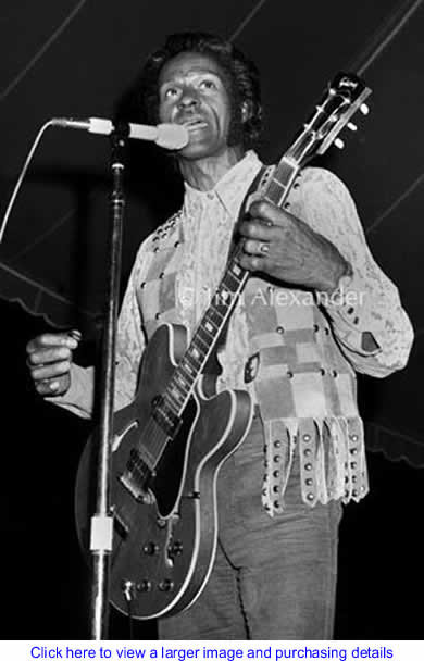 Art: Chuck Berry By Jim Alexander Photography