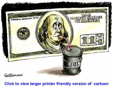 Political Cartoon: A 110 Dollar Bill