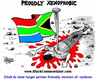 Political Cartoon: South Africa - Proudly Xenophobic By Tony Namate