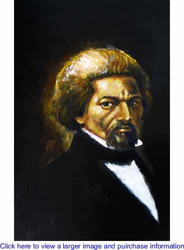 Art: Frederick Douglass By London Ladd