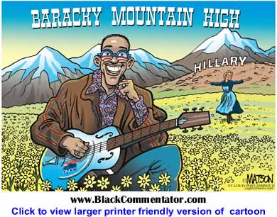 Political Cartoon: Baracky Mountain High By RJ Matson, The St. Louis Post Dispatch