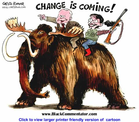 Political Cartoon: Change is Coming By Christo Komarnitski, Bulgaria