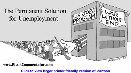 Political Cartoon: Unemployment Solution By Mark Hurwitt