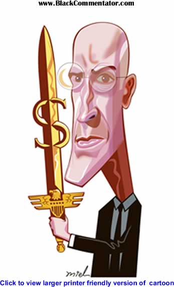 Political Cartoon: Henry Paulson By Deng Coy Miel, Singapore