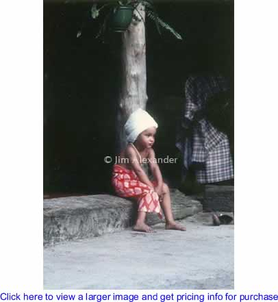 Art: Yoruba Child By Jim Alexander Photography