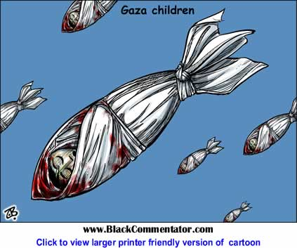Political Cartoon: Gaza Children By Emad Hajjaj, Jordan