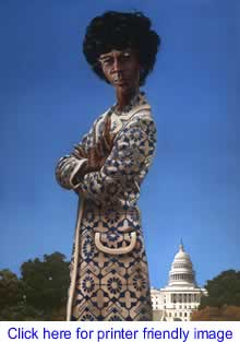 Art: Shirley Chisholm By Kadir Nelson