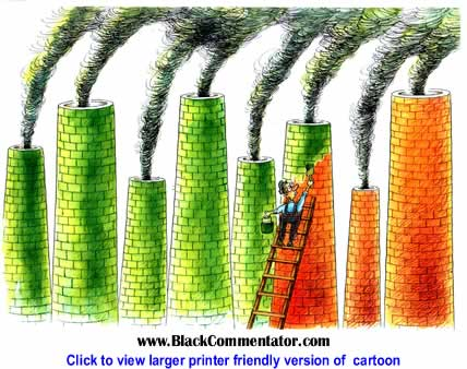 Political Cartoon: Ecology By Pavel Constantin, Romania