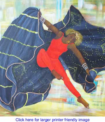 Art: Despite Gravity By Margaret Warfield