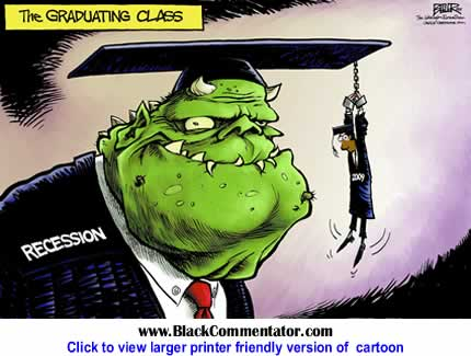 Political Cartoon: College Grads By Nate Beeler, The Washington Examiner