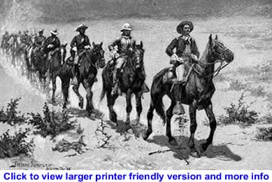 Art: The Buffalo Soldiers By Frederic Remington