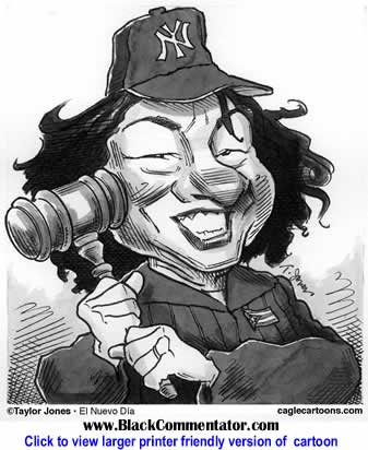 Political Cartoon: Sonia Sotomayor By Taylor Jones, El Nuevo Dia, Puerto Rico