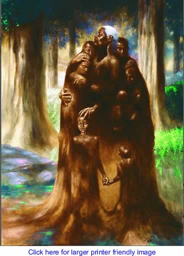 Art: The Family Tree By Kadir Nelson