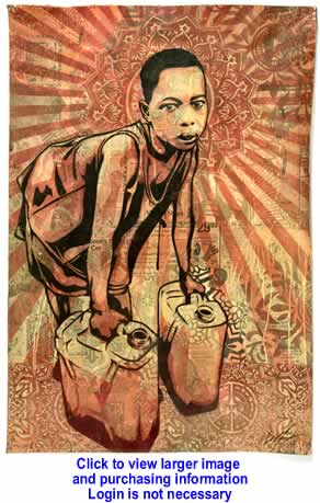 Art:  L.E.A.D. UGANDA By Shepard Fairey