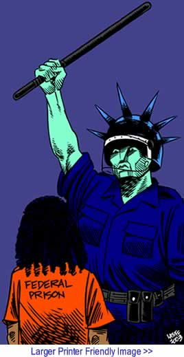 Cartoon: Raise the Fist By Carlos Latuff