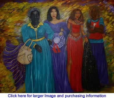 Art: The Journey Of Four  By Margaret Warfield