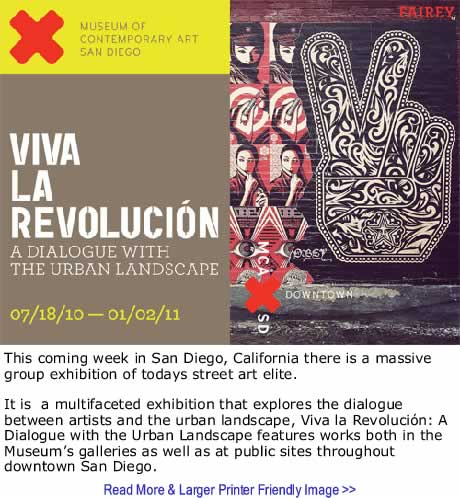 The Black Commentator - Art: Viva La Revolucion X Museum of Contemporary Art San Diego
