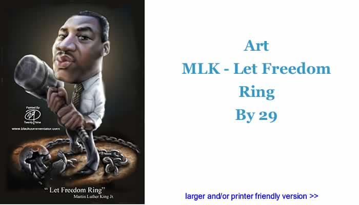 Art - MLK - Let Freedom Ring By 29