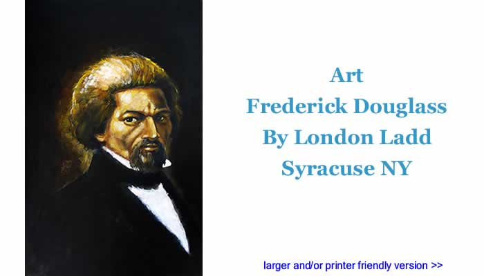 Art - Frederick Douglass By London Ladd, Syracuse NY