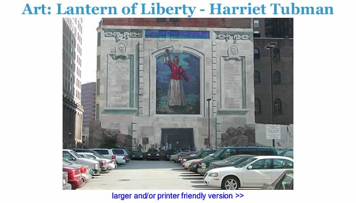 Art - Lantern of Liberty - Harriet Tubman Wall Mural Photograph