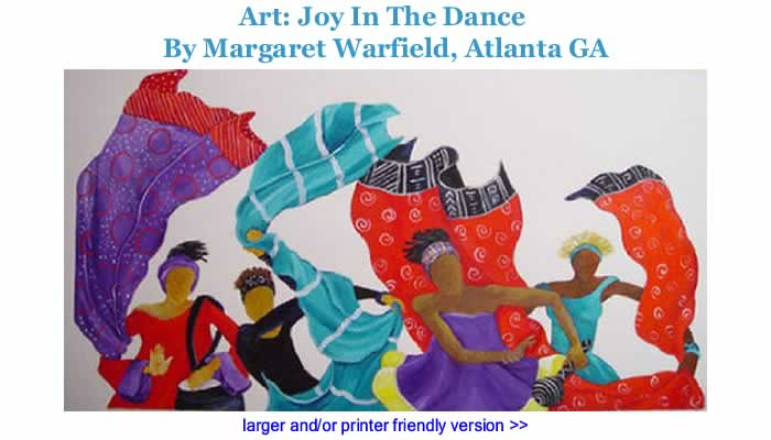 Art: Joy In The Dance By Margaret Warfield, Atlanta GA