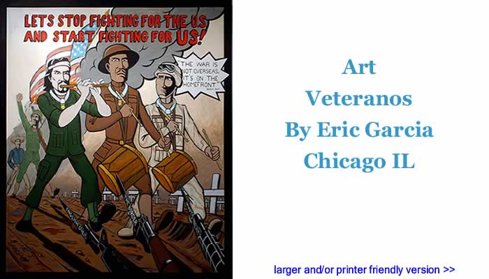 Art - Veteranos By Eric Garcia, Chicago IL