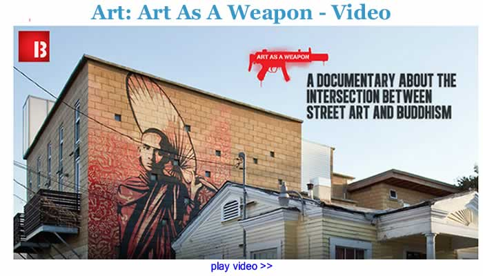 Art: Art As A Weapon - Video