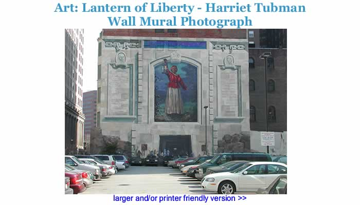 Art: Lantern of Liberty - Harriet Tubman Wall Mural Photograph