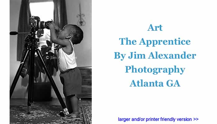Art: The Apprentice By Jim Alexander Photography, Atlanta GA