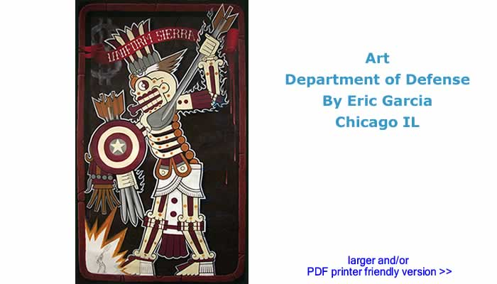 Art - Department of Defense By Eric Garcia, Chicago IL