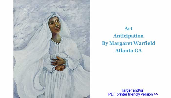 Art: Anticipation By Margaret Warfield, Atlanta GA