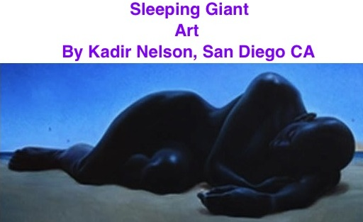 BlackCommentator.com: Sleeping Giant - Art By Kadir Nelson, San Diego CA