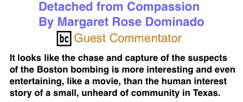 BlackCommentator.com: Detached from Compassion By Margaret Rose Dominado, BC Guest Commentator