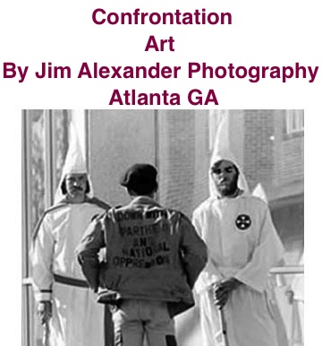 BlackCommentator.com: Confrontation - Art By Jim Alexander Photography, Atlanta GA