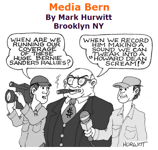 BlackCommentator.com September 03, 2015 - Issue 619: Media Bern - Political Cartoon By Mark Hurwitt, Brooklyn NY