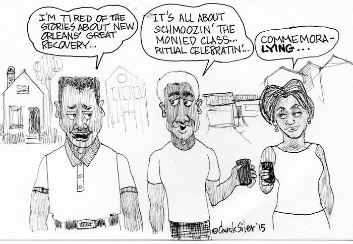 BlackCommentator.com September 10, 2015 - Issue 620: Commemoralying - Political Cartoon By Chuck Siler, Carrollton TX