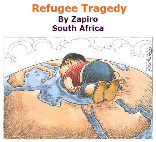BlackCommentator.com September 17, 2015 - Issue 621: Refugee Tragedy - Political Cartoon By Zapiro, South Africa