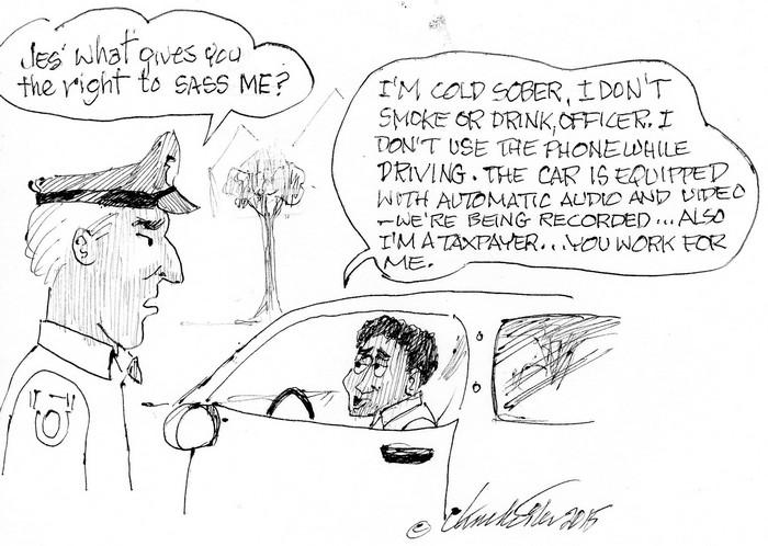 BlackCommentator.com October 08, 2015 - Issue 624: Tax Paying Citizen - Political Cartoon By Chuck Siler, Carrollton TX