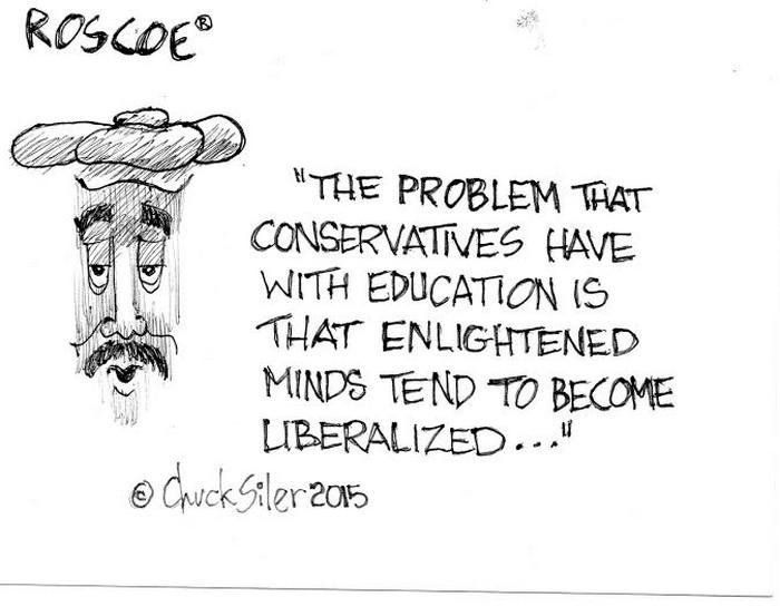 BlackCommentator.com October 22, 2015 - Issue 626: Education - Political Cartoon By Chuck Siler, Carrollton TX