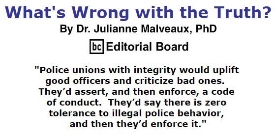 BlackCommentator.com November 19, 2015 - Issue 630: What's Wrong with the Truth? By Dr. Julianne Malveaux, PhD, BC Editorial Board