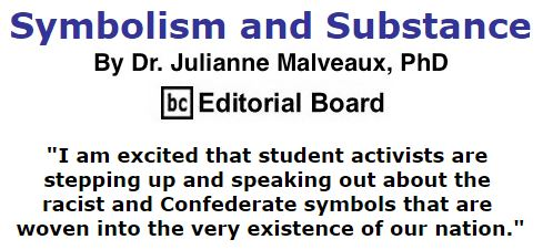 BlackCommentator.com December 10, 2015 - Issue 633: Symbolism and Substance By Dr. Julianne Malveaux, PhD, BC Editorial Board