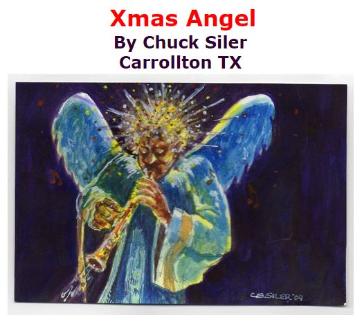 BlackCommentator.com December 17, 2015 - Issue 634: Xmas Angel - Political Cartoon By Chuck Siler, Carrollton TX