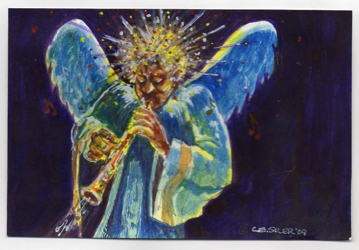 BlackCommentator.com December 17, 2015 - Issue 634: Xmas Angel - Political Cartoon By Chuck Siler, Carrollton TX