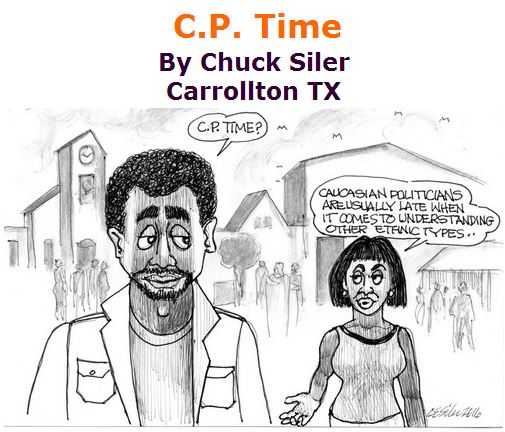 BlackCommentator.com April 21, 2016 - Issue 650: C.P. Time - Political Cartoon By Chuck Siler, Carrollton TX