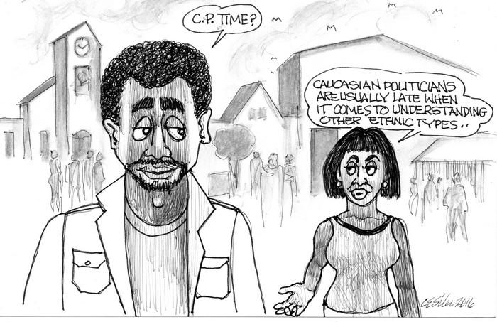 BlackCommentator.com April 21, 2016 - Issue 650: C.P. Time - Political Cartoon By Chuck Siler, Carrollton TX