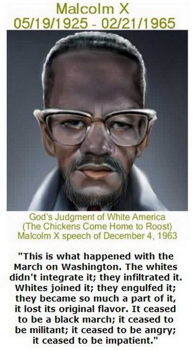 BlackCommentator.com May 19, 2016 - Issue 654: God's Judgment of White America - (The Chickens Come Home to Roost) - Malcolm X speech of December 4, 1963