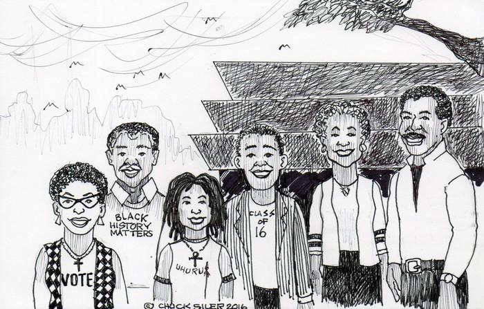 BlackCommentator.com September 29, 2016 - Issue 668: African American Museum - Political Cartoon By Chuck Siler, Carrollton TX