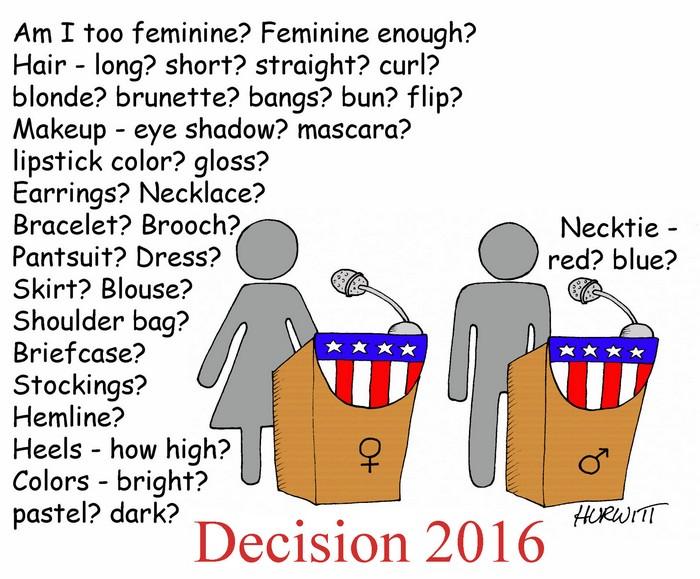 BlackCommentator.com September 29, 2016 - Issue 668: The Debates - Political Cartoon By Mark Hurwitt, Brooklyn NY