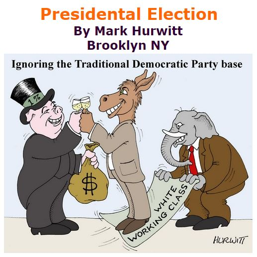 BlackCommentator.com November 11, 2016 - Issue 674: Presidental Election - Political Cartoon By Mark Hurwitt, Brooklyn NY